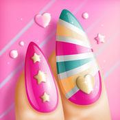 美甲彩绘 – 女孩游戏: 做自己的指甲设计在你的美甲沙龙 1