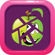 水果和蔬菜 : 学问 排序 形狀 猜谜游戏