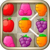 水果连接 - 水果链接最佳Match3拼图 1