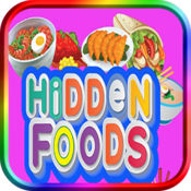 隐藏的对象-食品寻找对象游戏