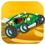 趣味沙滩车极速赛车手 - 极端沙漠拉力赛疯狂骑