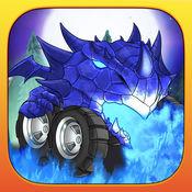 有趣的怪物卡车赛车游戏 - Fun Monster Truck Racing Game