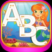 字母 图画书 幼儿 学习写和画 字母 字母在英语与许多图片 学校 幼儿园和幼儿园