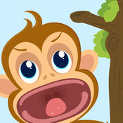Funky Monkey牙医狂热的亲 - 最小孩子的牙医游戏