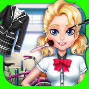 高中时尚沙龙 - 女孩游戏和舞会