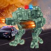 未来警察机器人战斗罪:机器人战斗游戏
