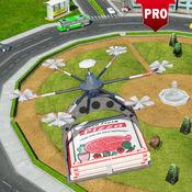 未来派无人机披萨交付PRO四重直升机游戏 1.1