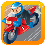 愤怒的拖动赛 - 极限自行车特技版 LX
