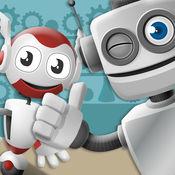 机器人工厂:创意游戏的孩子