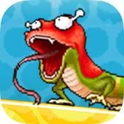 壁虎攀岩墙 - 蜥蜴爬行动物
