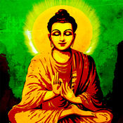 佛教艺术高清壁纸收藏图库:个性名言主题背景 1