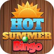 Hot Summer Bingo - 高奖金财务资助终极财富随着多涂抹