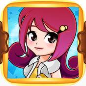 儿童美发沙龙:装扮女孩智力游戏