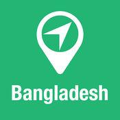 大指南 孟加拉国 地图+旅游指南和离线语音导航 1