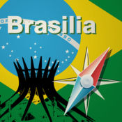 巴西利亚地图...