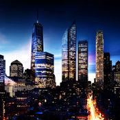 城市夜 桌面壁纸 - 点亮 该 屏幕 同 世界城市 HD背景