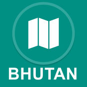 不丹 : 离线GPS导航 1