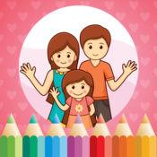 图画书 为家庭的幼儿: 学画画 与家长和孩子