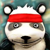Cartoon Panda Run - 免费 动画片 熊猫 赛车 游戏 神庙逃亡 对于 孩子
