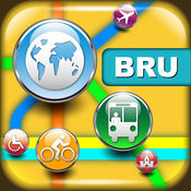 布鲁塞尔(比利时)地图  4.7.1