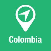 大指南 哥伦比亚 地图+旅游指南和离线语音导航