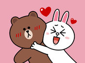 布朗熊和可妮兔 甜蜜恩爱篇 - LINE FRIENDS 1.0.1