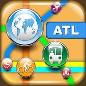 亚特兰大(美国)地图 - 下载交通地图,城市地图和旅游指南
