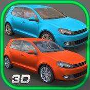 汽车 赛跑 游戏 3D 快速 交通 路 主动 斗争