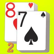 扑克接龙2(推推通通) Free - 开开心心打发时间 七上八下