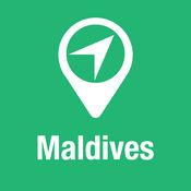 大指南 马尔代夫 地图+旅游指南和离线语音导航 1
