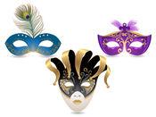 面具 狂歡節 貼紙 1