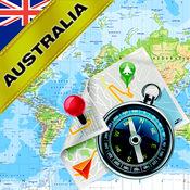 澳大利亚 (澳洲) - 离线地图和GPS导航仪 1.8