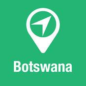 大指南 博茨瓦纳 地图+旅游指南和离线语音导航