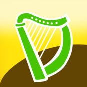 凱爾特豎琴 - 民間音樂對聖帕特里克節愛爾蘭豎琴
