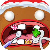 姜饼 男人 牙医 - Gingerbread Man Dentist 1