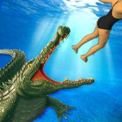 饥饿 鳄鱼 世界 : 致命 海洋 沼泽 攻击