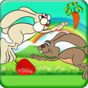 饥饿的兔子,跑吧 ...
