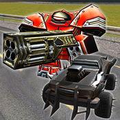 汽车机器人赛车战争