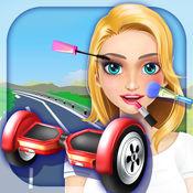 女生平衡车模拟 - 免费化妆与装扮女孩游戏