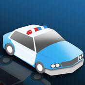 真棒警车停车躁狂症 - 最好的电机驱动技能比赛