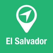 大指南 萨尔瓦多 地图+旅游指南和离线语音导航 1