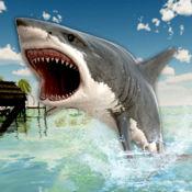 猎人 鲨鱼 模拟器 : 海 攻击 3D