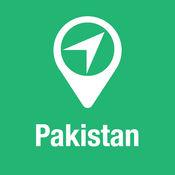 大指南 巴基斯坦 地图+旅游指南和离线语音导航 1