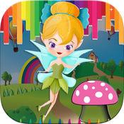 女孩图画书小妖精 - 游戏为孩子