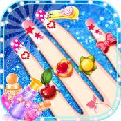 女生游戏 - 公主的时尚美甲和化妆沙龙