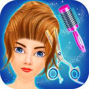 女子理发沙龙 - 发型化妆游戏