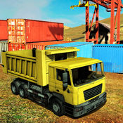 货运4×4越野卡车司机运输模拟器