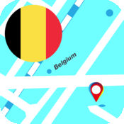 比利时离线地图 2