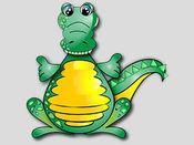 鳄鱼贴纸包