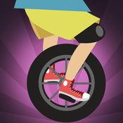 真棒unicyclist跳跃比赛亲 - 新的快速跳跃的赛车游戏